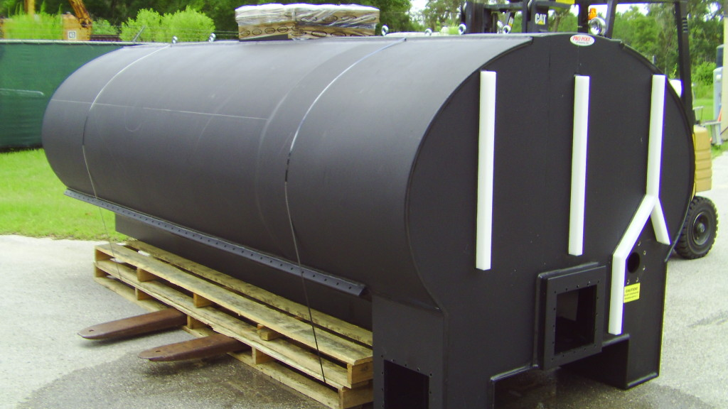 Polypropylene Elliptical Tank 2