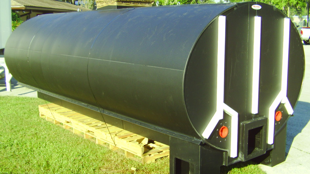 Polypropylene Elliptical Tank 1